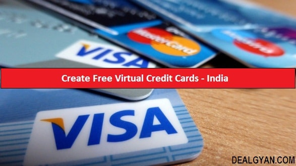 Create free virtual credit card in india