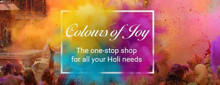 Flipkart Holi Sale 2017 Store