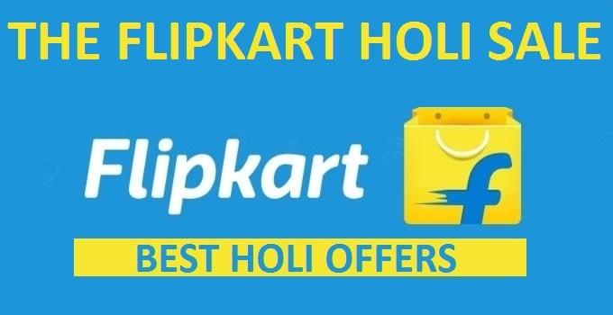 Flipkart Holi Sale 2017