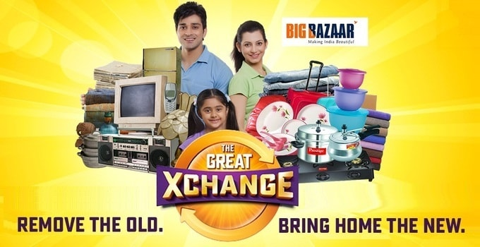 Big Bazaar Exchange Offer 2017