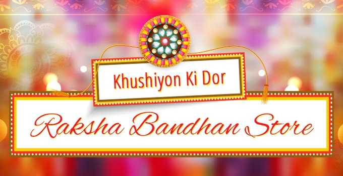 Raksha Bandhan offers for online Shopping