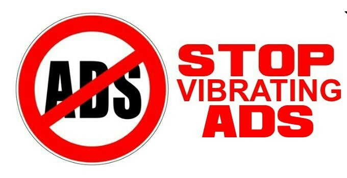How to Stop Vibrating Ads On Android