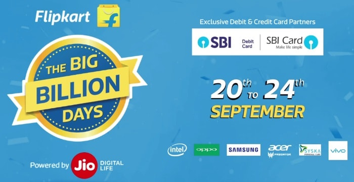 Flipkart Big Billion Days Sale Offers List