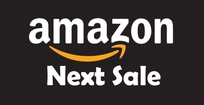 Amazon Upcoming Sale 2019