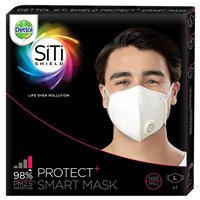 Dettol Siti Shield Protect+ N95 Anti-Pollution Smart Mask