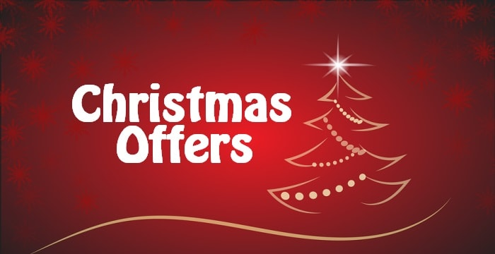 Christmas Offers 2017