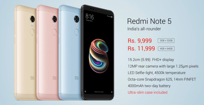 Redmi Note 5 Next Sale Date