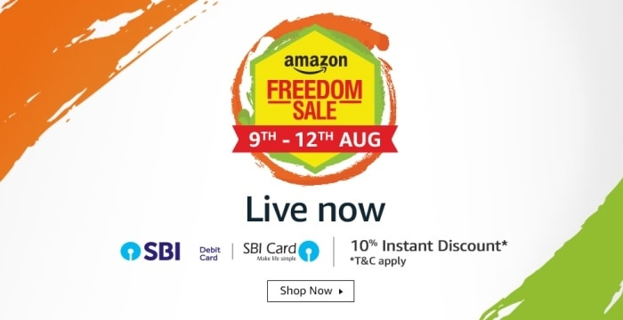 Amazon freedom Sale 2018