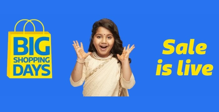 Flipkart big shopping days sale 2018