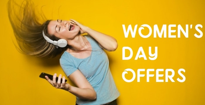 Women's Day Offers 2018