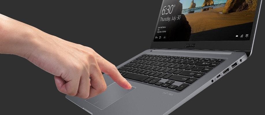 Asus Vivobook S Inbuilt fingerprint sensor