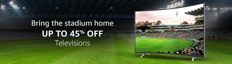 Amazon Television Sale March 2019