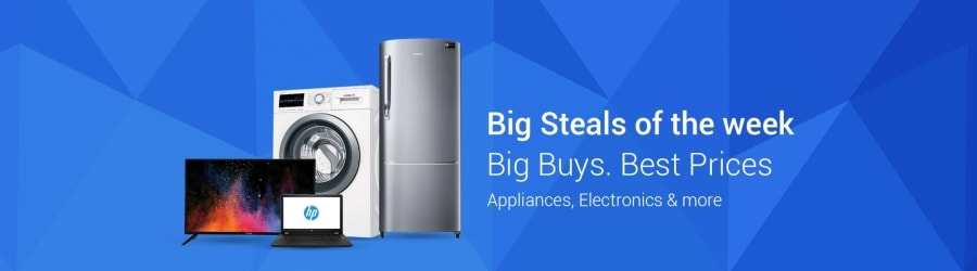 Flipkart big steals of the week