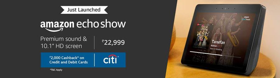Amazon Echo Show India