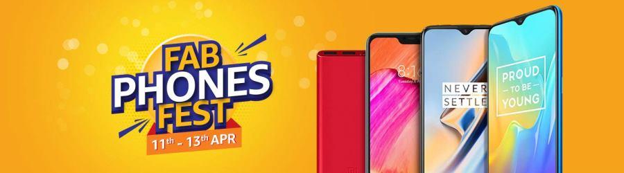 Amazon Fab Phones Fest Mobiles Sale