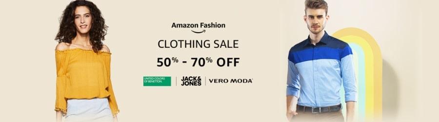Amazon Fashion Sale 2019