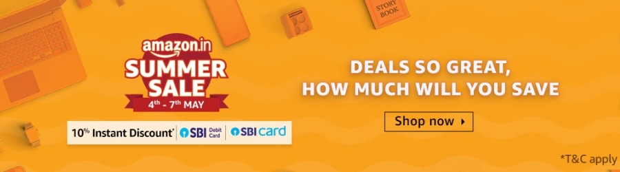 Amazon Great Indian Sale May 2019
