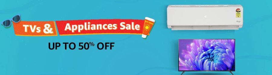 Amazon TV & Appliances Sale 2019