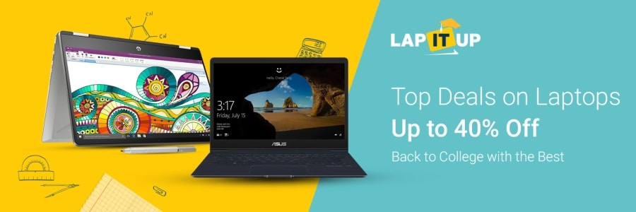 Flipkart Back to Collage Laptop Sale 2019