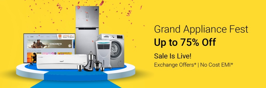 Flipkart Grand Appliances Sale