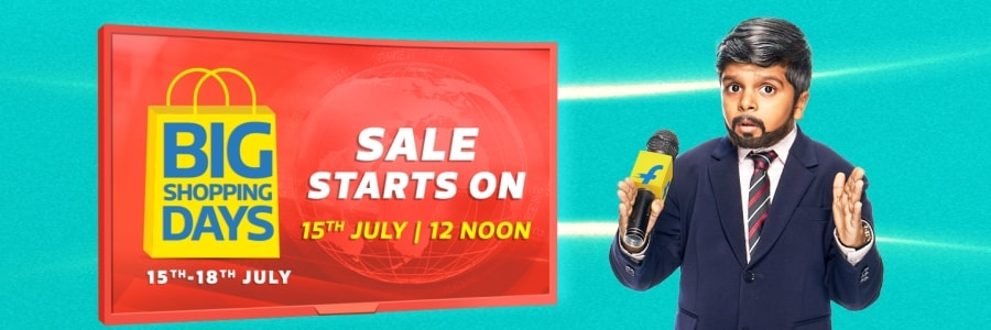 Flipkart Big Shopping Days Sale July 2019