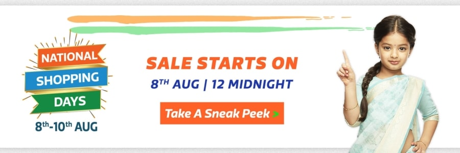 Flipkart National Days Sale 2019