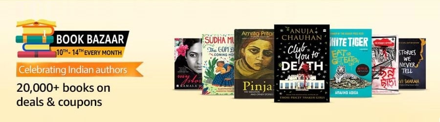 Amazon Book Bazaar 10 to 14th Every Month